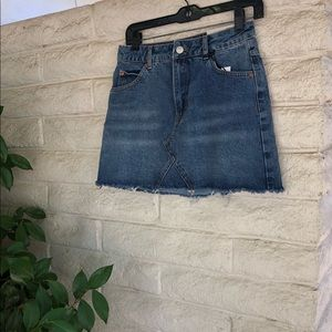 New with tags! Topshop jean skirt